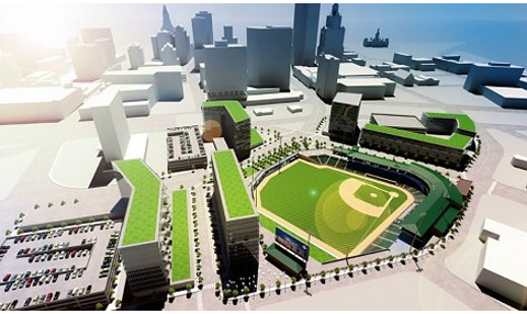 New Britain Rock Cats New Hartford Stadium Rendering