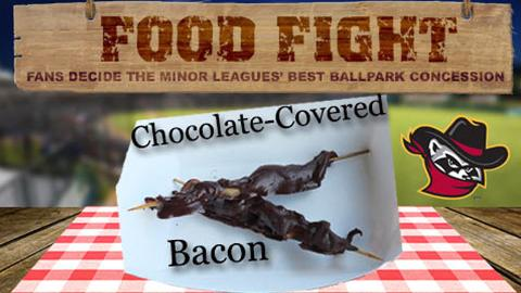 Quad Cities River Bandits rallying the troops for chocolate-covered bacon