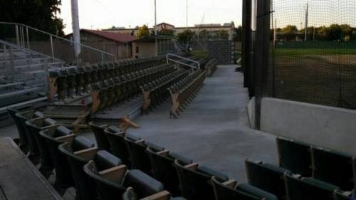 Tiger Field renovations, Redding Colt .45s Facebook photo