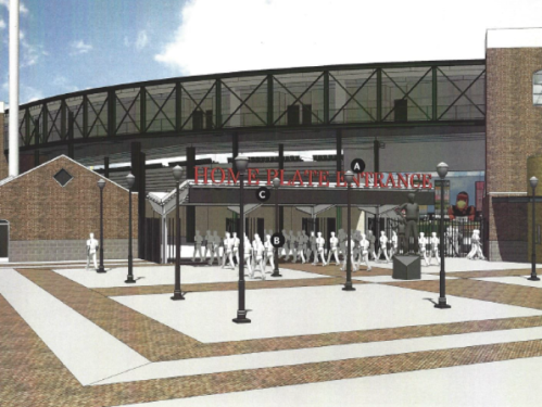 Rochester Red Wings Frontier Upgrades Rendering