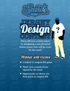 St. Paul Saints Design Your Own T-Shirt Contest