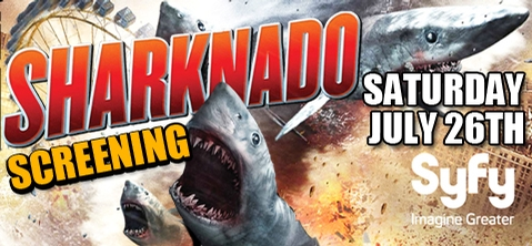 Camden RiverSharks Sharknado Screening
