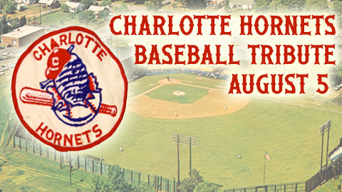 Charlotte Knights Charlotte Hornets Throwback Night