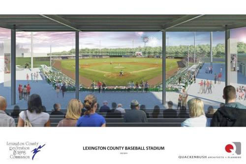Columbia Blowfish Ballpark Rendering 2