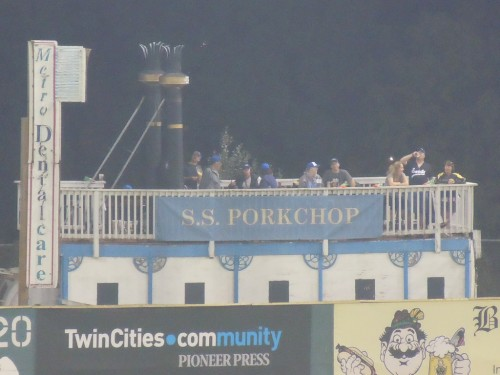 St. Paul Saints Midway Porkchop by BallparkBiz