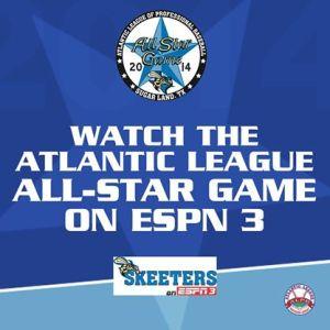 Sugar Land Skeeters Atlantic League All-Star Game on ESPN 3