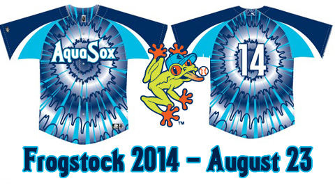 Everett AquaSox Frogstock