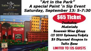 Lowell Spinners Paint n Sip Event