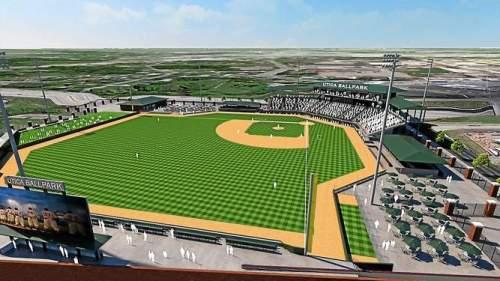 Utical MI Ballpark Rendering