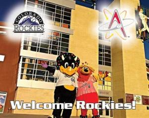 Albuquerque Isotopes PDC with Rockies
