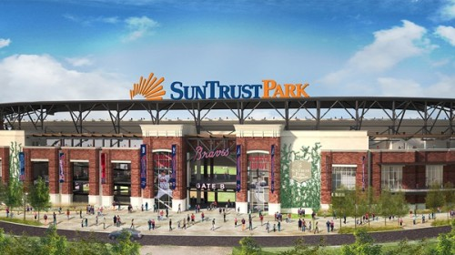 Atlanta Braves SunTrust Park Rendering