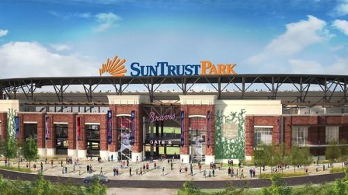 Atlanta Braves SunTrust Park Rendering