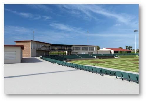 Bakersfield Field Blaze Salinas Ballpark Rendering