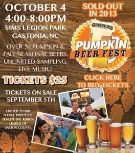 Gastonia Grizzlies Pumpkin Beer Fest
