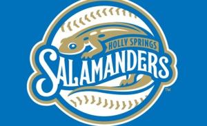 Holly Springs Salamanders Logo