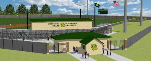 Missouri Southern State University Ballpark Rendering