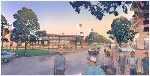 Amarillo Downtown Ballpark Rendering