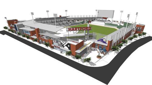 Hartford Ballpark Rendering 1