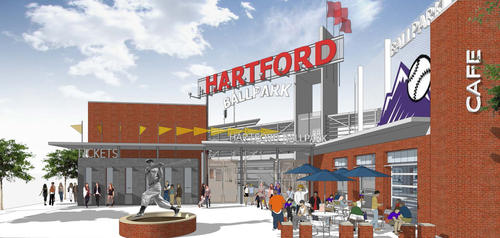 Hartford Ballpark Rendering 2