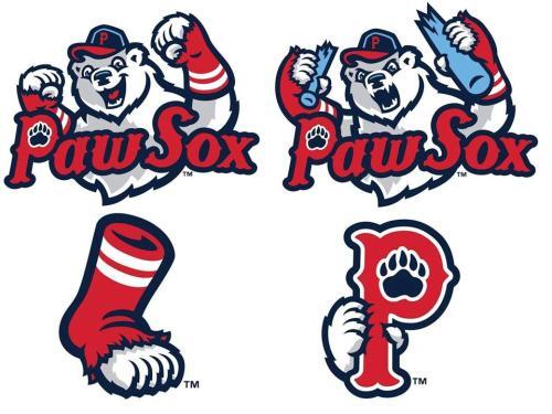 Pawtucket Red Sox New Logos