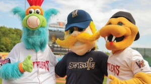 Whiffer, Bernie, and Fang approve of the announcement that the Timber Rattlers and Brewers have extended their affiliation agreement through 2020.