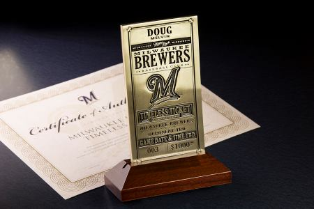 Timeless Ticket, Milwaukee Brewers Facebook photo.