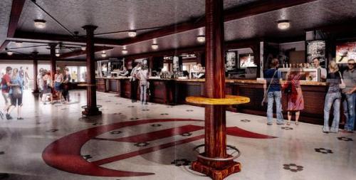 Inside The Bootlegger bar, Cincinnati Reds
