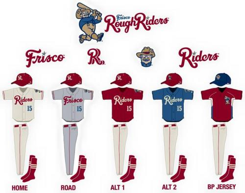 Frisco RoughRiders New Unis
