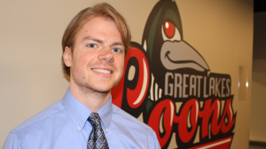 Great Lakes Loons Vosters New Play-By-Play Guy