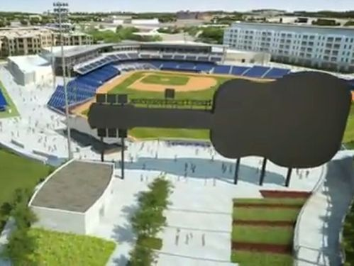 Nashville Sounds New Ballpark Rendering