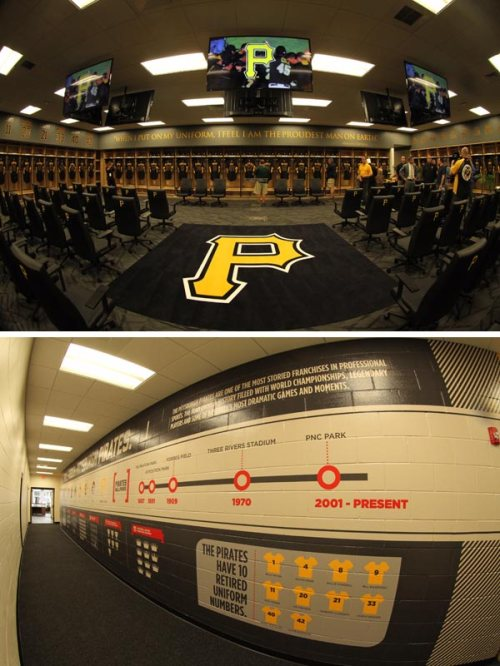Pittsburgh Pirates New Clubhouse 1