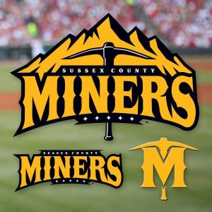 Sussex County Miners Officials Logos
