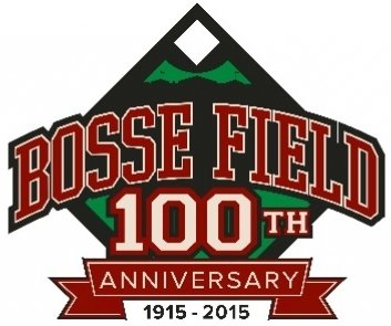 Evansville Otters Bosse Field 100th Logo