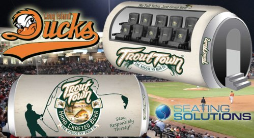 Long Island Ducks VIP Seating Area