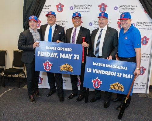 "Mar. 12, 2015 - Ottawa Champions Announce Naming of Stadium as ""Raymond Chabot Grant Thornton Park"""