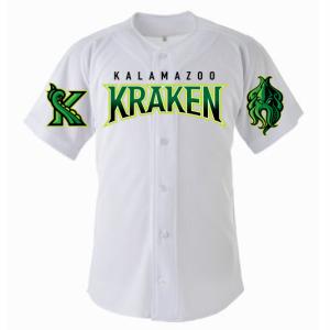 Kalamazoo Growlers Kalamazoo Krakens Jersey