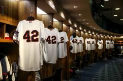 No. 42 jerseys, Minnesota  Twins Facebook photo