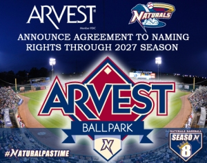 Arvest Bank, Naturals Renew Stadium Naming Rights Agreement |