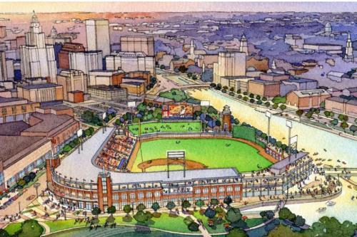 Pawtucket Red Sox Providence Ballpark Rendering