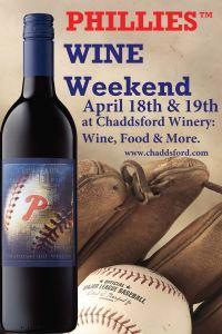 Philadelphia Phillies Wine Weekend