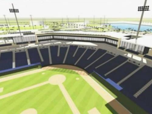 West Palm Beach Spring Training Rendering