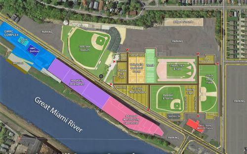 Proposed Hamilton (OH) sports complex, CDA Alliance rendering