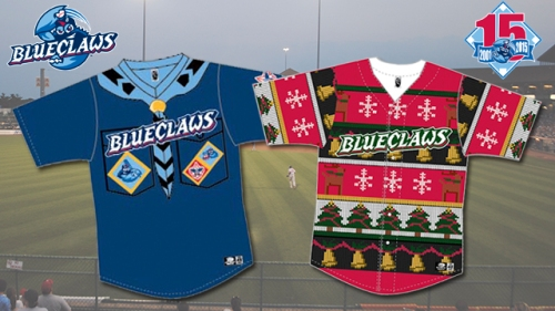 Lakewoods BlueClaws Special Jerseys