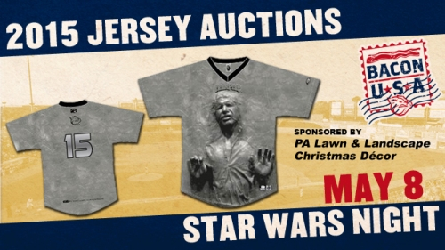 Lehigh Valley IronPigs Han Solo in Carbonite