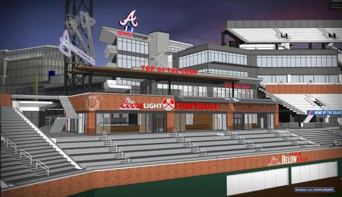 Atlanta Braves Coors Light Chop House