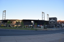 Now that everyone was inside, it was time to sneak out and take a few clean exterior photos of CHS Field.