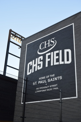 Love the large and clean CHS Field signage.