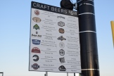 CHS Field's Craft Beer Corner offers multiple microbrew options.