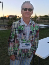 While actor/comedian/Saints co-owner Bill Murray was somewhere in the house, this real-life-looking cardboard cutout greeted fans in the outfield picnic area at CHS Field.