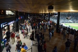The busy concourse.